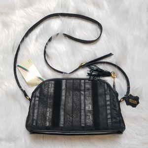 NWT Michael Stevens Crossbody bag. Black